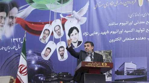 Tehran begins uranium mining after N-talks fail