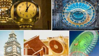 Top 10 clocks around the world