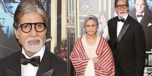 Amitabh Bachchan & Jaya Bhaduri at red carpet of The Great Gatsby premiere