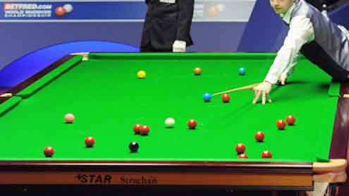 Asian Snooker C'ship : Omar to clash with Saleh in final today