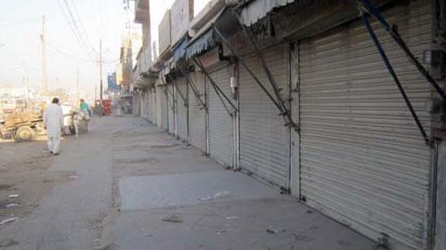Balochistan shuts down