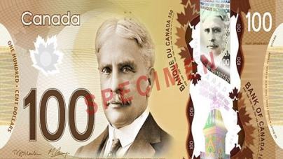 Canadians complain their new plastic $100 bills have maple syrup aroma