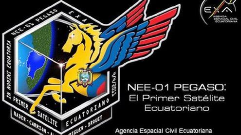 Ecuador Pegasus satellite fears over space debris crash