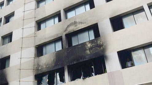 Eight dead in Bangladesh garment factory blaze