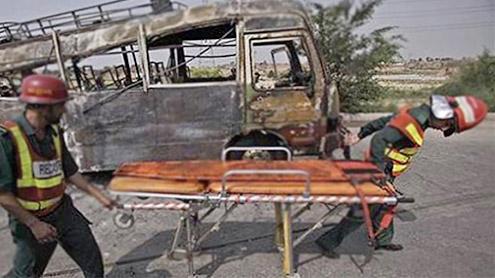 Gujrat school van cylinder blast kills 17 children