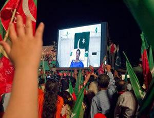 Bedridden Imran makes Final Appeal to Voters