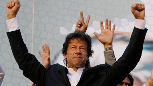 Injured Khan to address Islamabad rally today