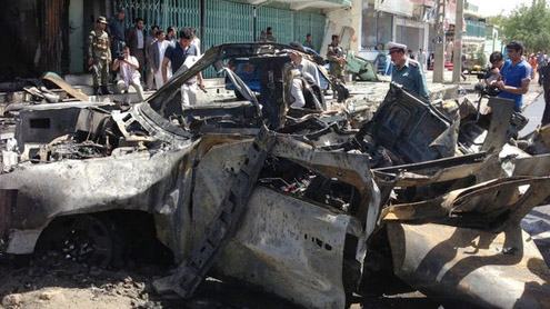 Kabul blast: Suicide bomber targets foreign convoy