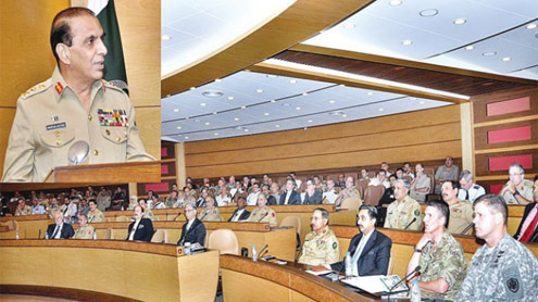 Kayani proposes regional counter-IED forum