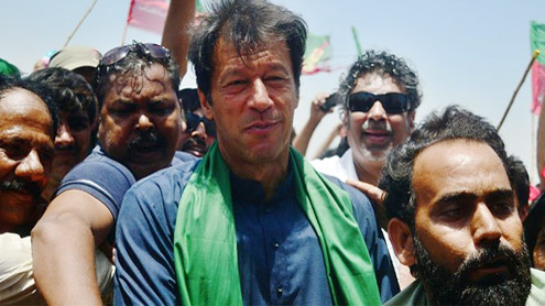 Khan said to be in high spirits, urges supporters to keep fighting for change