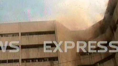Three dead, several trapped as fire erupts at LDA plaza in Lahore