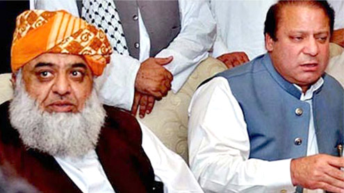 Mechanism worked out: PML-N, JUI-F in accord on Taliban talks