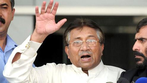 Musharraf files bail in judges' detention case