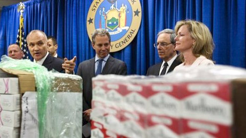NY busts multi-million dollar 'cigarette smuggling ring'