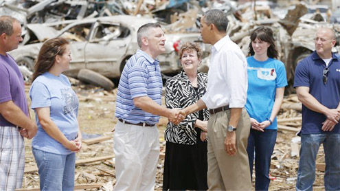 Obama: Gov't with Oklahoma 'every step' of the way