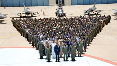 PAF chief observes tri-national air exercise in Saudi Arabia