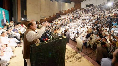 Paying back circular debt top priority Negotiations with Taliban possible: Nawaz
