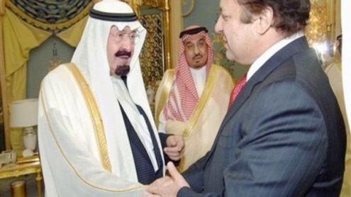 Saudis likely to bailout Sharif government