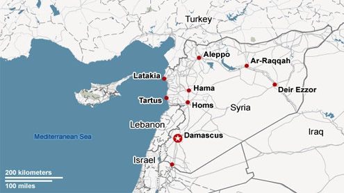 U.S. believes Israel has conducted an airstrike into Syria