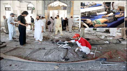 'Accomplice' of Peshawar bomber held