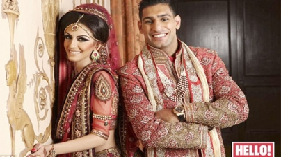Amir Khan speaks out about his wedding to Faryal Makhdoom