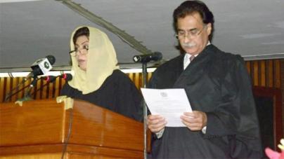 Ayaz Sadiq takes oath as 19th NA Speaker