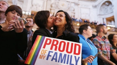 DOMA defeated on historic day for gay rights in US