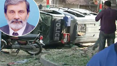 Four killed, 12 injured in Burnes Road blast