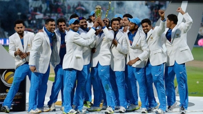 India claims Champions Trophy glory