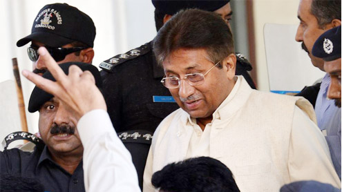 Musharraf's fate hanging in the balance?