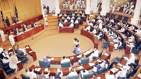 Opposition says: KP budget a 'visionless' document