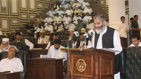 PTI Govt. unveils Rs 344 bln tax free budget