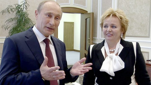 Russia's Vladimir Putin and wife Lyudmila divorce