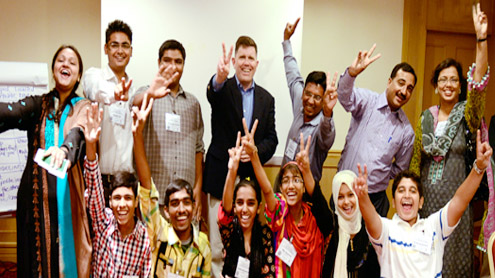 Seminarians learn English under US programme
