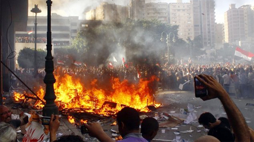 US warns against Egypt travel after deadly clashes