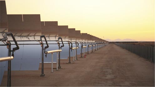 '5,000 acres of land allocated for solar power projects'