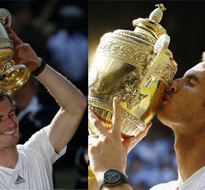 Andy Murray is the first British man to win Wimbledon