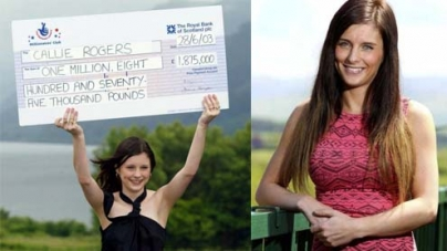 Britain's youngest lottery winner says £2m lotto win a curse
