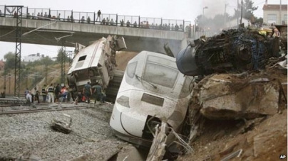 Dozens die as Spanish train derails in Galicia