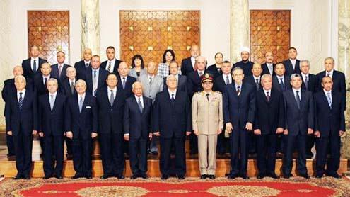 Prime Minister Hazem el-Beblawi