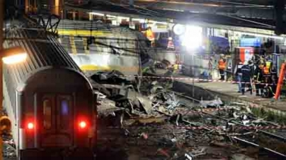 French train crash: Rescue goes on at Bretigny-sur-Orge