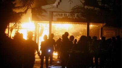 Indonesia mass breakout at Tanjung Gusta jail