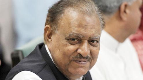 Mamnoon Hussain elected as president