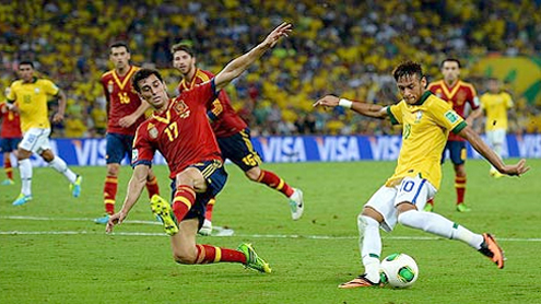 Neymar-inspired Brazil humble Spain to win Confederations Cup final