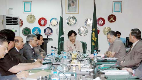 Nisar plans Karachi visit to assess law & order