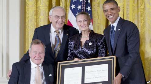 Obama, Bush Highlight Importance of Volunteerism