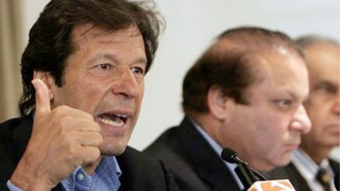 Imran calls for closed-door meeting with PM, COAS on security