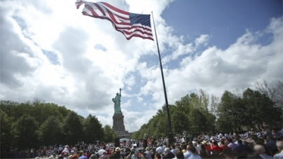 Statue of Liberty reopens on Independence Day