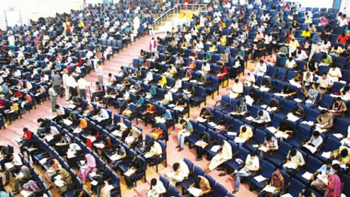 45,000 candidates appear in UET entry test