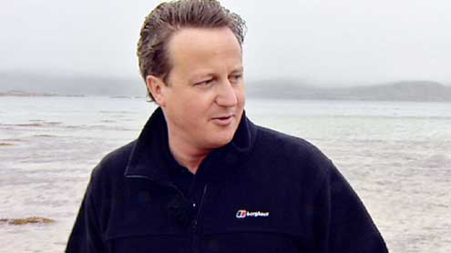 Cameron warned he will face leadership challenge if he forces Tories into new Coalition